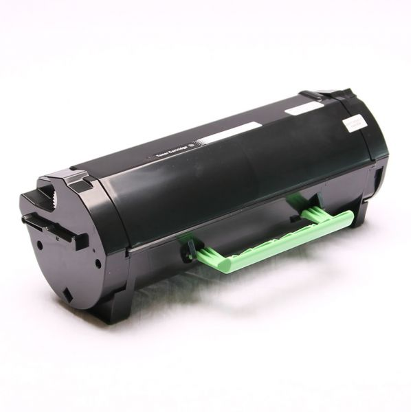 Toner schwarz kompatibel zu Lexmark 602H